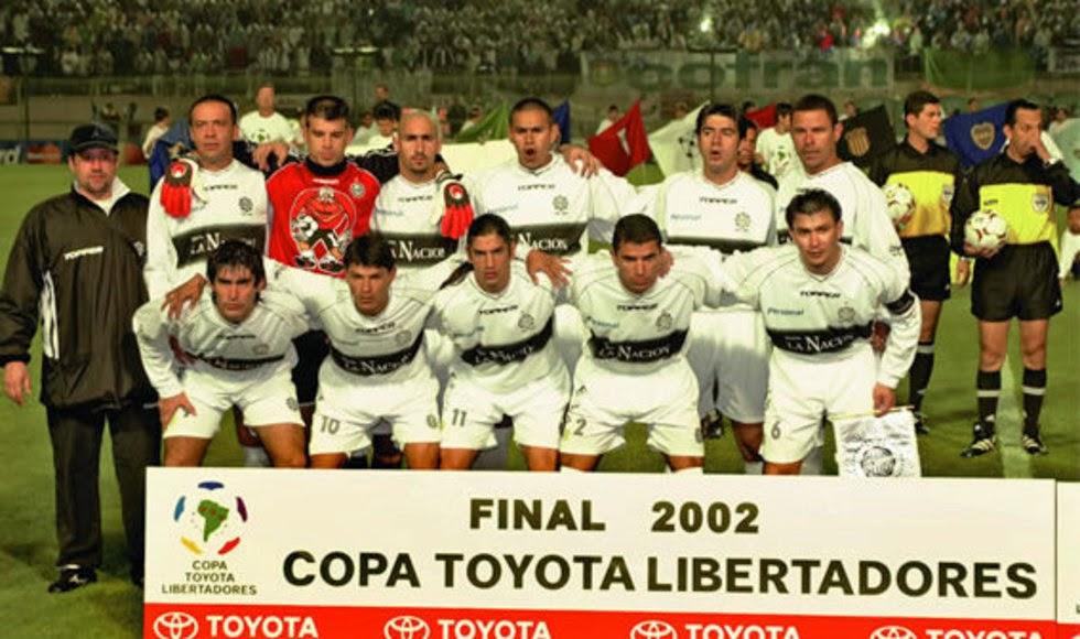 El Olimpia ganó la Libertadores en 2002.