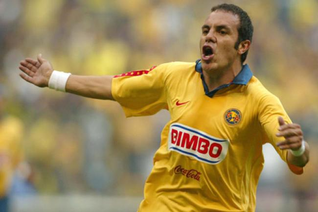 Cuauhtemoc Blanco is the history of America.