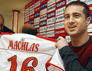 Grandes pufos de la Liga española: Nikos Machlas