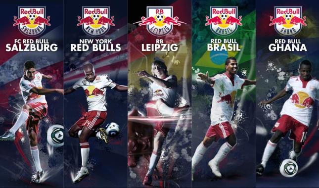Red Bull tiene cinco equipos de fútbol
