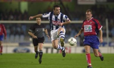 Javier de Pedro, one of the best lefties in the history of Spanish football