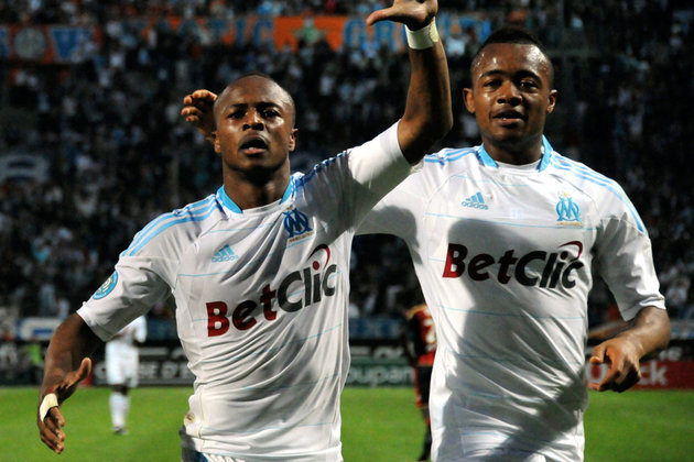 Jordan and Andre Ayew the brothers.
