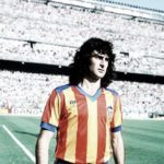 The top five strikers in the history of Valencia