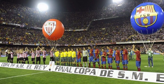 Barcelona y Athletic, los reyes de copas