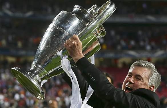 Ancelotti colecciona Champions.