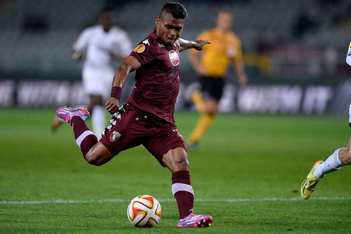 Martínez está destacando en la Europa League con el Torino.