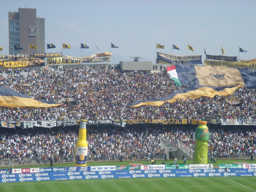 Pumas cuenta con una de las mejores hinchadas de México.