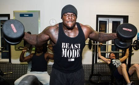 "Adebayo Akinfenwa, ""The Beast""."