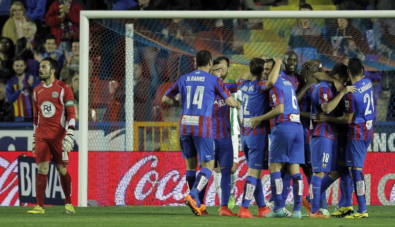 Levante has been saved with one of its worst scores in First, 37 points.