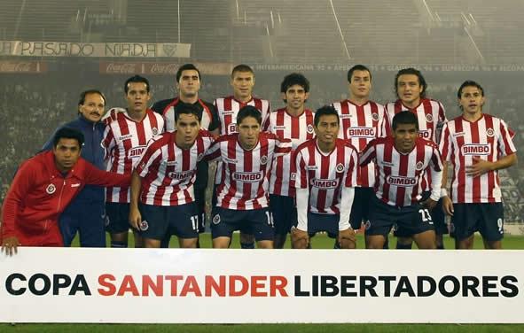 Chivas jugó la final de la Libertadores de 2010.