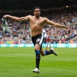 Jonas Gutierrez saves Newcastle after beating cancer