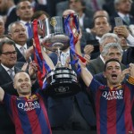 The teams with the most Copa del Rey history