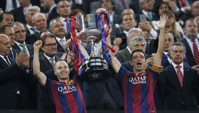 Los equipos con más Copas del Rey de la historia
