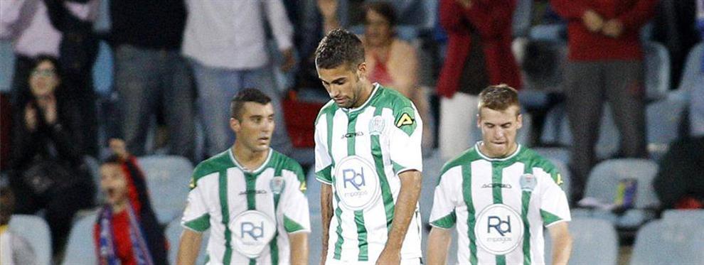 El Córdoba ha hecho una temporada lamentable.