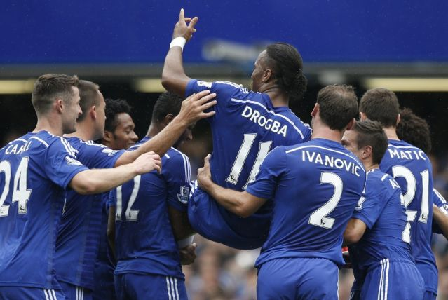 Drogba también se despidió por segunda vez del Chelsea.