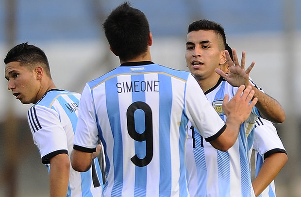 Giovanni Simeone and Angel Run, future of Argentina.