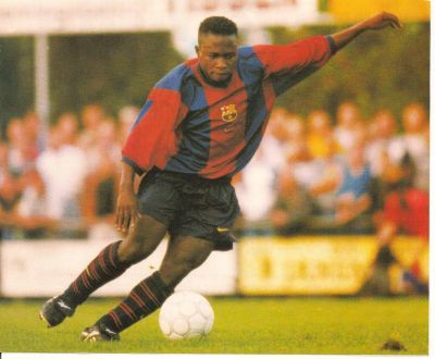 Haruna Babangida, one of those players who were going to star and eventually crashed