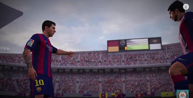 FIFA 16 It presents its first full trailer