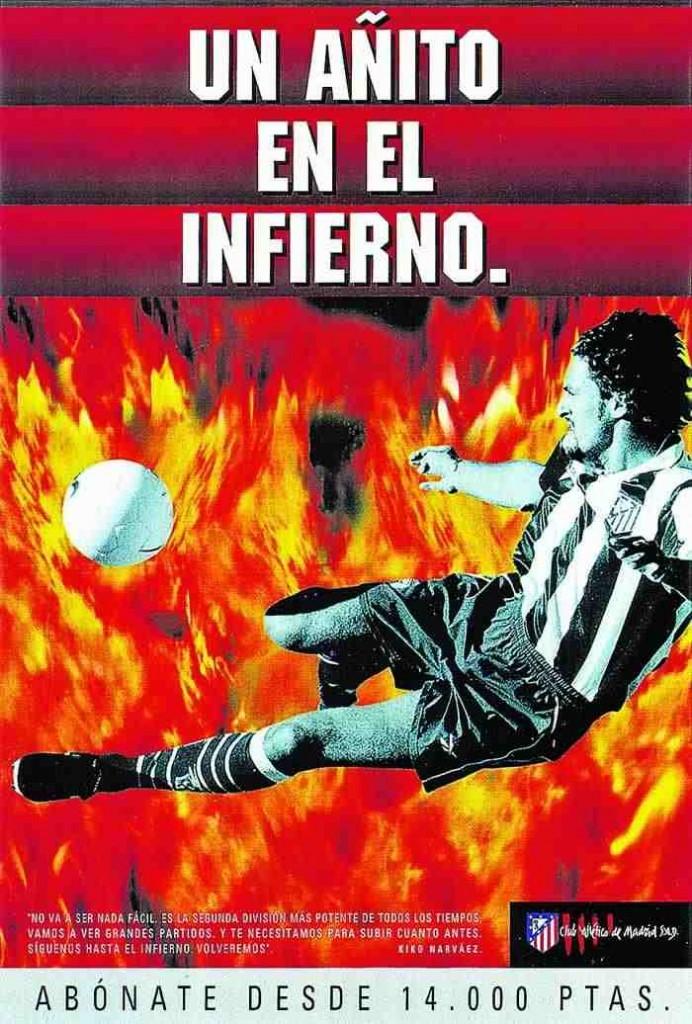 """Cartel original de """"Un añito en el infierno""""."""