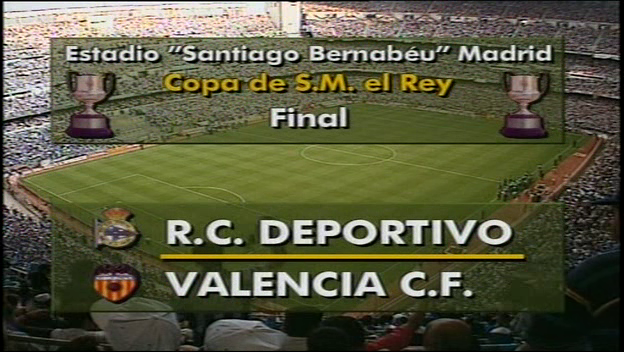 Cup final 1995 He was played on two different days