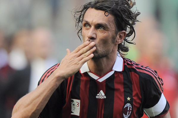 Paolo Maldini one of the exponents of the One Club Man