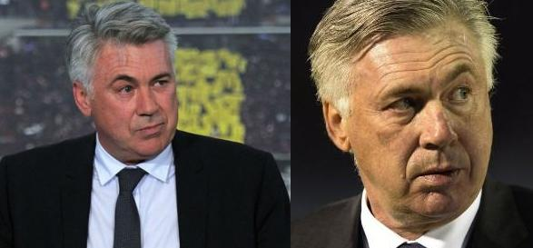 Ancelotti went to Real Madrid 2013 a 2015. His face felt the rigors of white bench.
