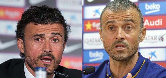 Luis Enrique is the latest victim and change the most brutal and obvious. Between the two pictures there only one year. In 2014 and in 2015.