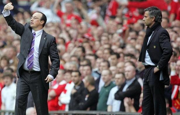 Comparativa entre Rafa Benítez y José Mourinho