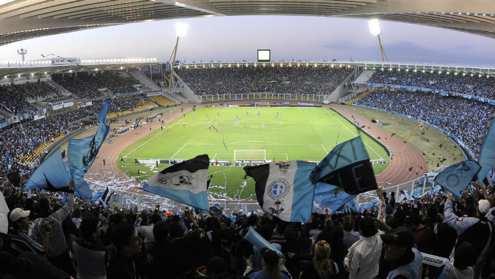 Alberto Kempes stadium in Cordoba Mario, Argentina.
