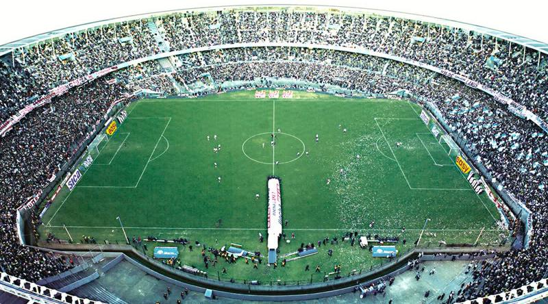 Espectacular imagen del Cilindro de Avellaneda.