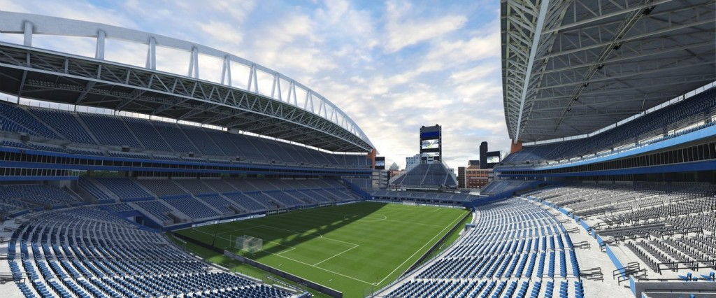 Century Link Field, the house Seattle Sounders. Photo: Easports.com