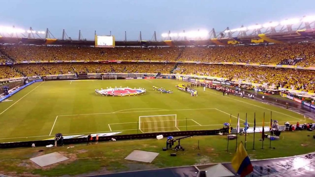 Colombia's largest stadiums