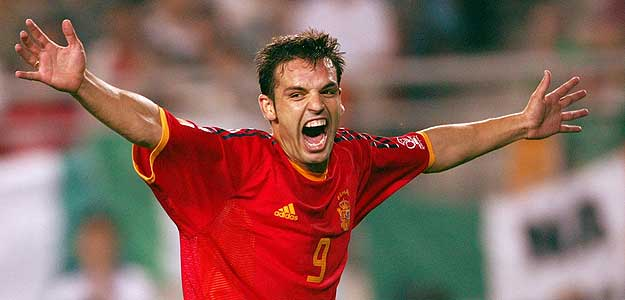 Morientes, one of the last 9 pure Spanish.
