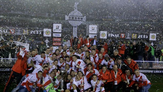 River Plate against one of the best moments of its history