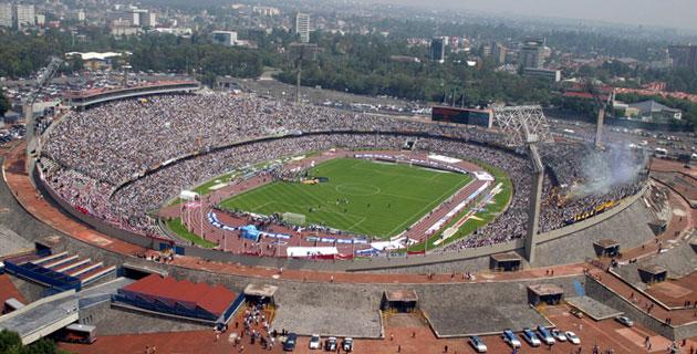 los estadios más grandes de México