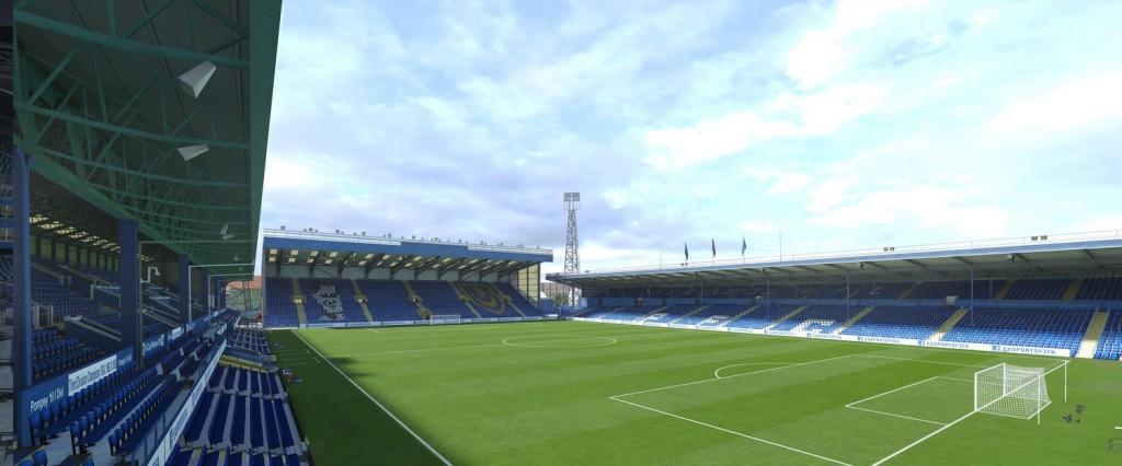 Fratton Park, el estadio del Portsmouth. Foto: Easports.com