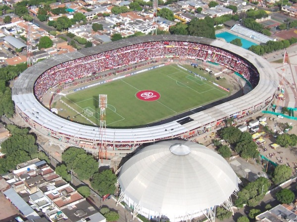 the biggest stadiums in Colombia