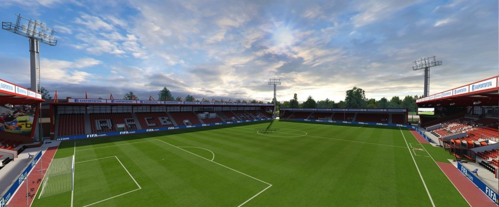 Vitality Stadium, the home of Bournemouth. Photo: Easports.com