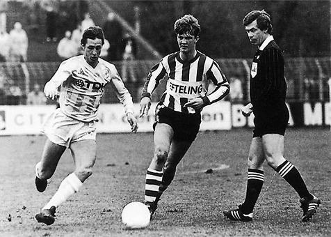 And, the boy who fights the ball Cruyff Van Gaal is.