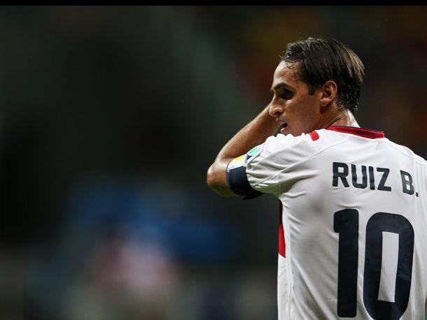 Bryan Ruiz se quedó sin jugar en el Levante por un tema burocrático. Foto: Vavel.com