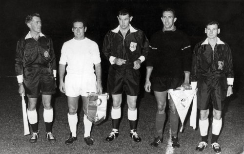 As you can see, the physique of the players was very different ago 50 years.