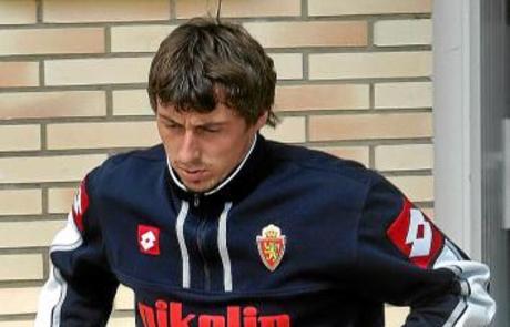 Drulic no tuvo suerte en el Zaragoza.