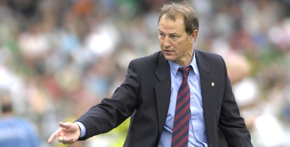 Gianni De Biasi in his time as coach Torino.