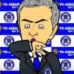 Caricature of excuses Mourinho lights up networks