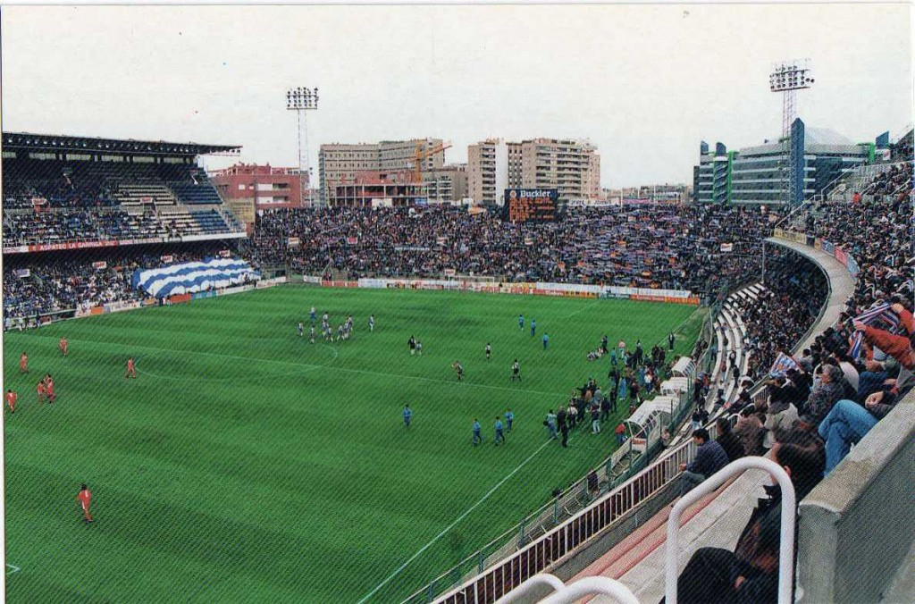 Sarriá was the home of Espanyol for decades.