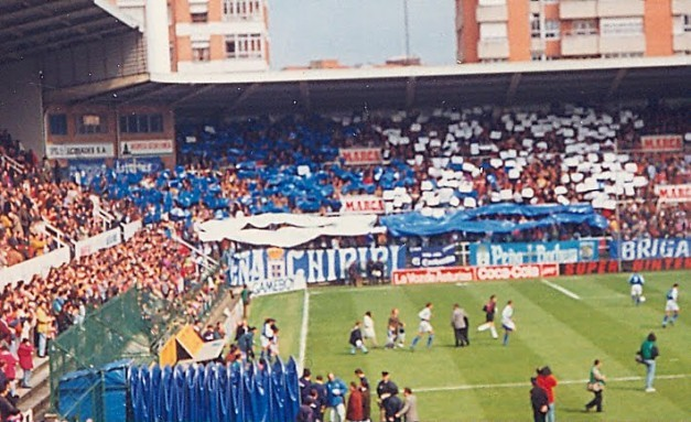 The old Carlos Tartiere always recorded good atmosphere.