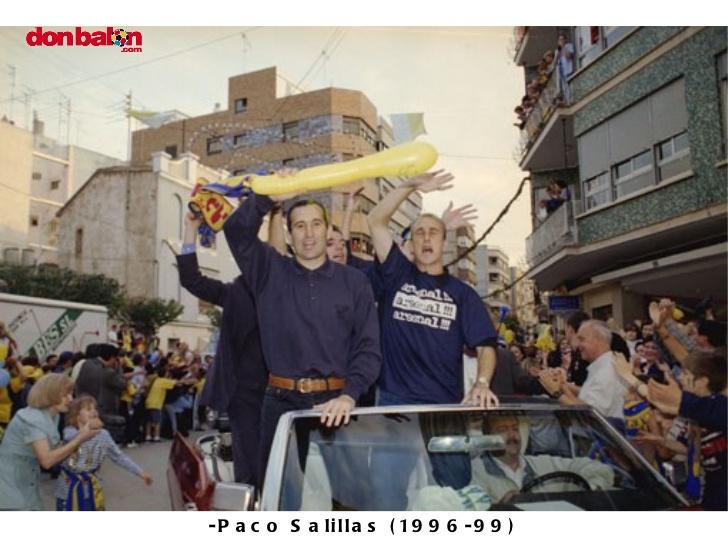 Así se celebró el primer ascenso en Villarreal. Foto: Submarinoamarillo.net