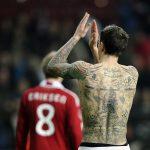 Diez de los futbolistas más tatuados del mundo