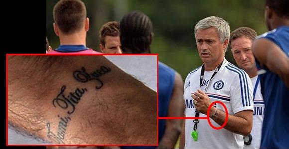 Hasta Mourinho se ha apuntado al tema de tatuarse.