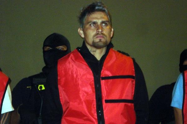 Omar Ortíz detenido por la policía mexicana. Foto: mediotiempo.com